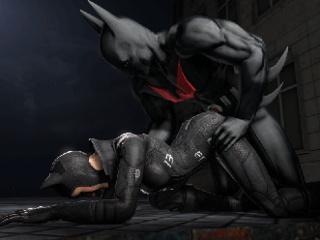 Batman sex video seks in de douches