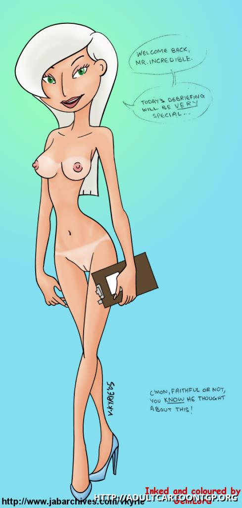 Incredibles Nude