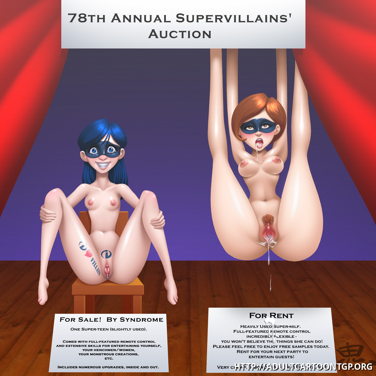 Violet and Helen - the most incredible lots of 78th Supervillains' Auction for sure!