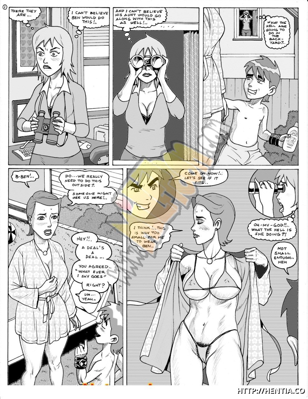 Ben 10 [milftoon]: Ben is naughty boy enough to fuck every pussy in this house!