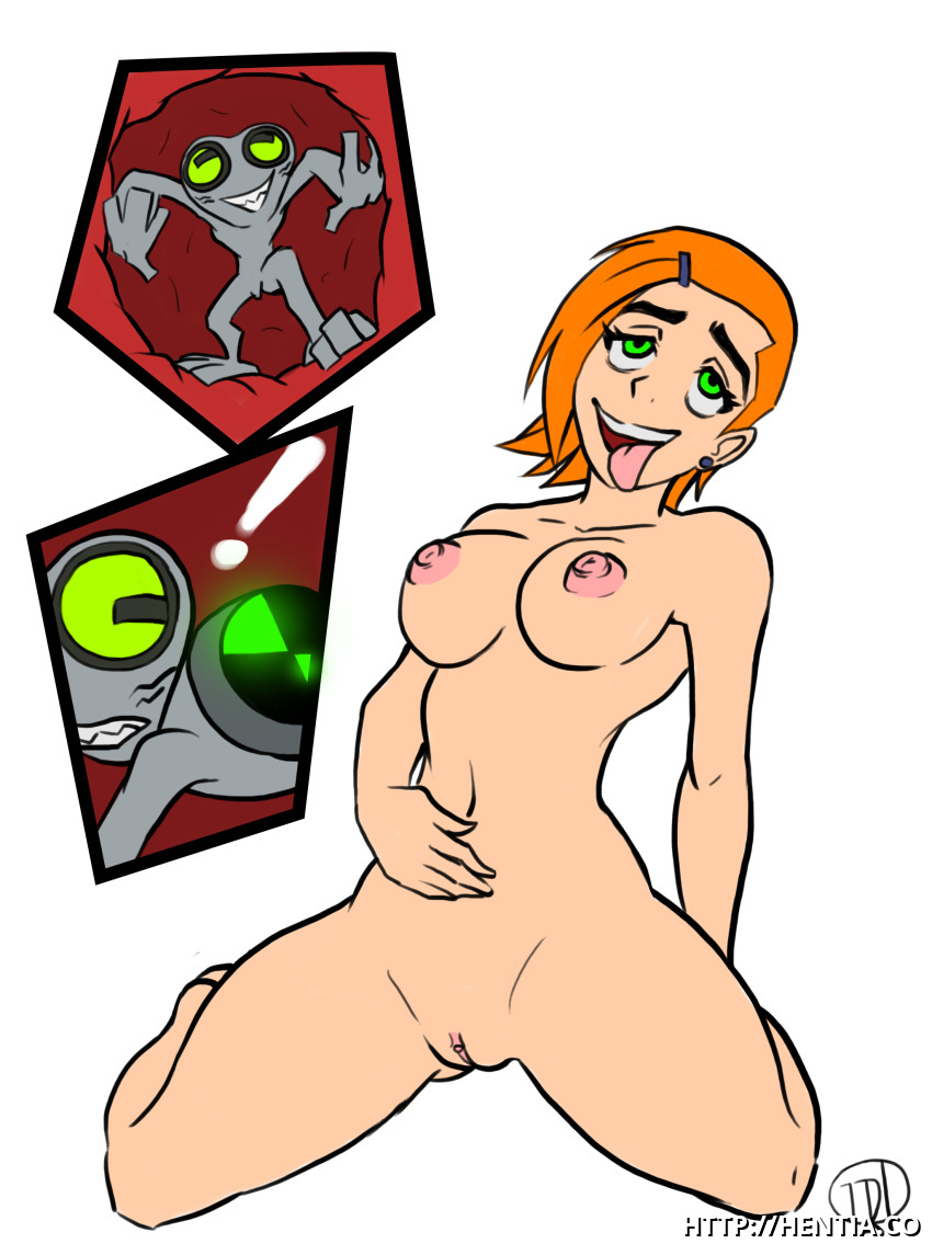 Omnitrix fail: Ben should be very carefull with changing his alien kinks when he is in Gwen's cootchie...