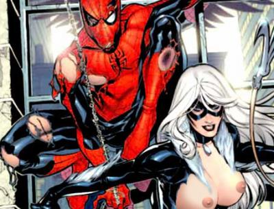 spiderman sex cartoon, black cat spiderman sex, spiderman porn comics