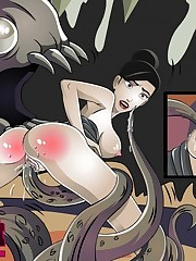 Cartoon Sex Gallery - Drawn Hentai