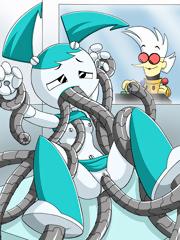 My Life As A Teenage Robot Hentai