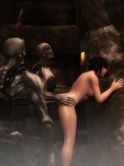 Lara croft hentai monstruo