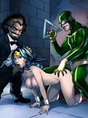 Justice League Hentai