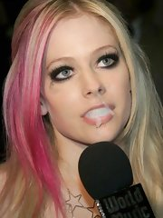 Avril Lavigne needs only hard rock... and hard cock!