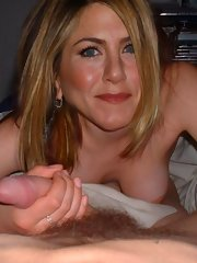 Guys love Jennifer Aniston and she loves their cocks!