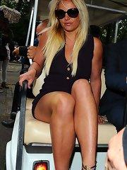Britney Spears nipslip, upskirt and sexy bikini