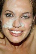 Horny Angelina Jolie loves to suck cocks!
