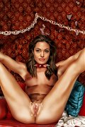 Jennifer Aniston,Angelina Jolie,Paris Hilton and Salma Hayek hardcore