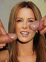 Kate Beckinsale compares big black and white dicks
