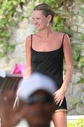 Kate Moss various topless & seethru photos