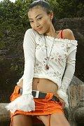 Bai Ling paparazzi topless beach photos