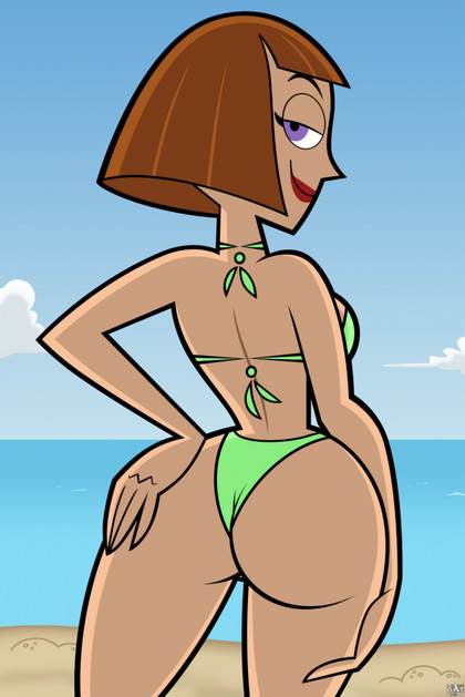 "Madeline Fenton from ""Danny Phantom"" knows that in bikini her ass lokks fantastic!"