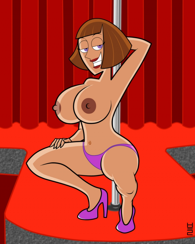 Busty Madeline Fenton make stripdance