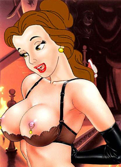 this picture shows Belle stripping right infront of you! damn look at those boobs.