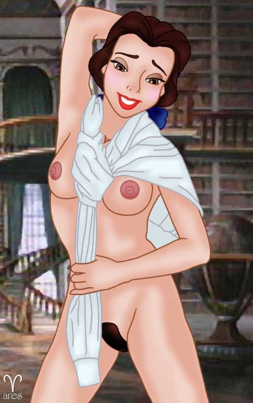 Belle knows how to wear clothes... without hiding her naked body!