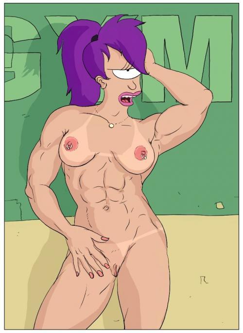 Girls of futurama naked