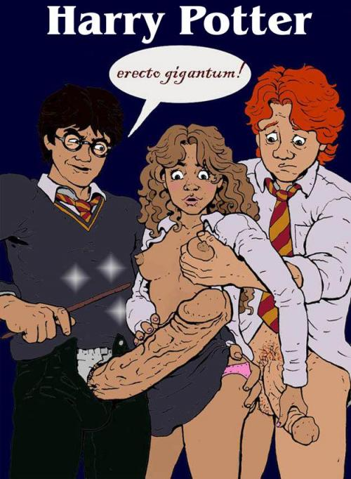 Potter nackt hermine und ginny harry comic Hermione Uncovers