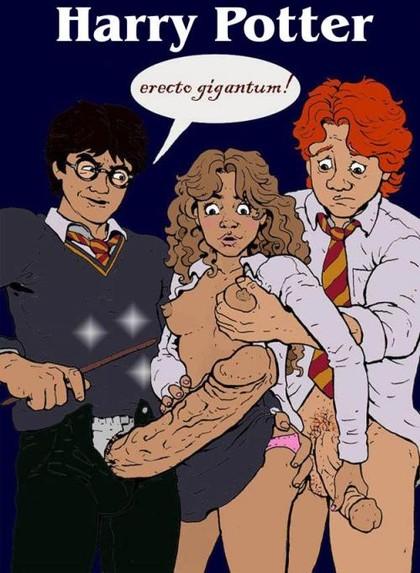 Harry Potter Cartoon Sex