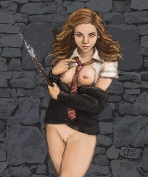 Harry Potter Naked