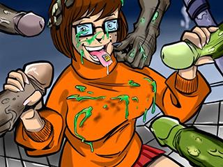 Cartoon-Porno-Bilder Scooby doo Top schwule Porno-Website
