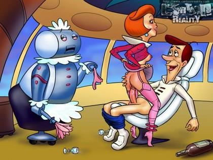 Jab Flintstones Jetsons