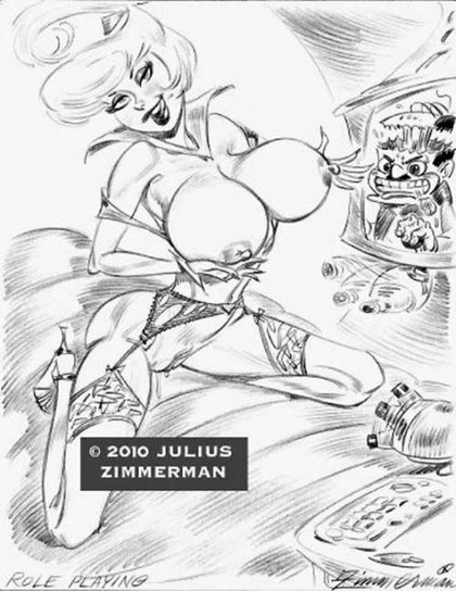 Judy Jetson showing her big boobs in sexy lingerie - it will blow any man's head... and not only head!