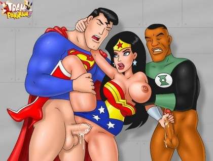 Justice league Hentai