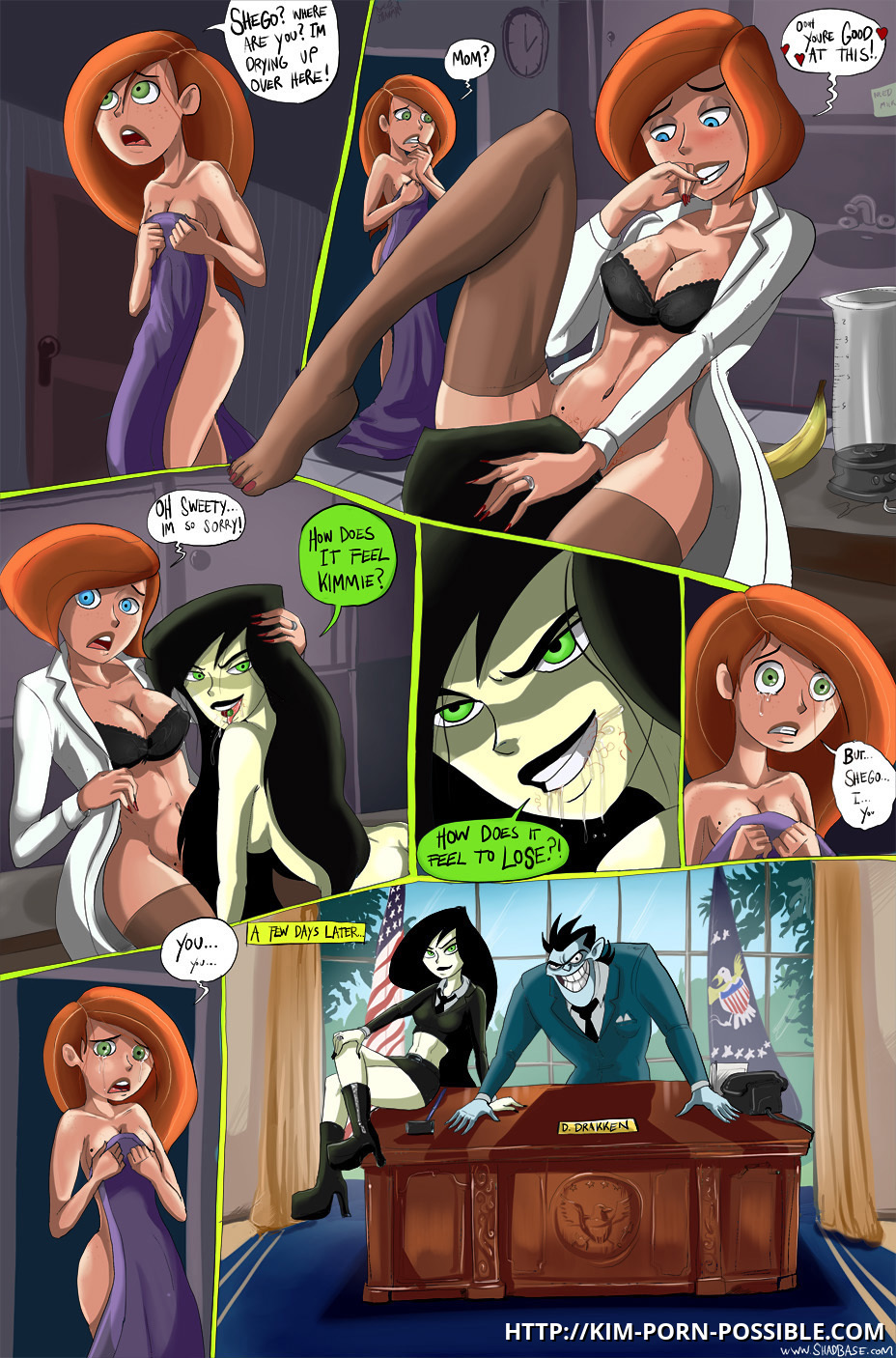 Kim Possible Lezbion Porn