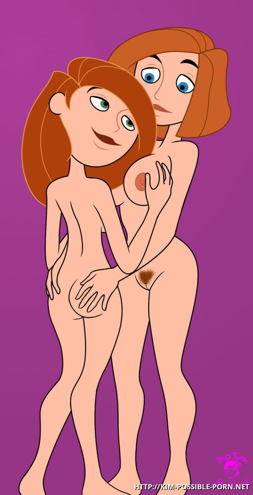Naked kim from kim possible