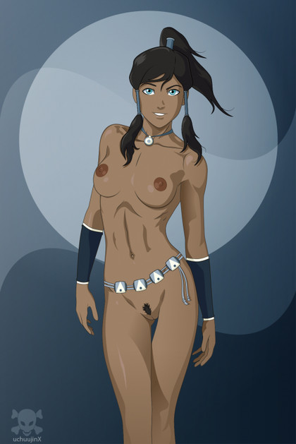 Great picture of sexy Korra exposing the beauty of her naked body!