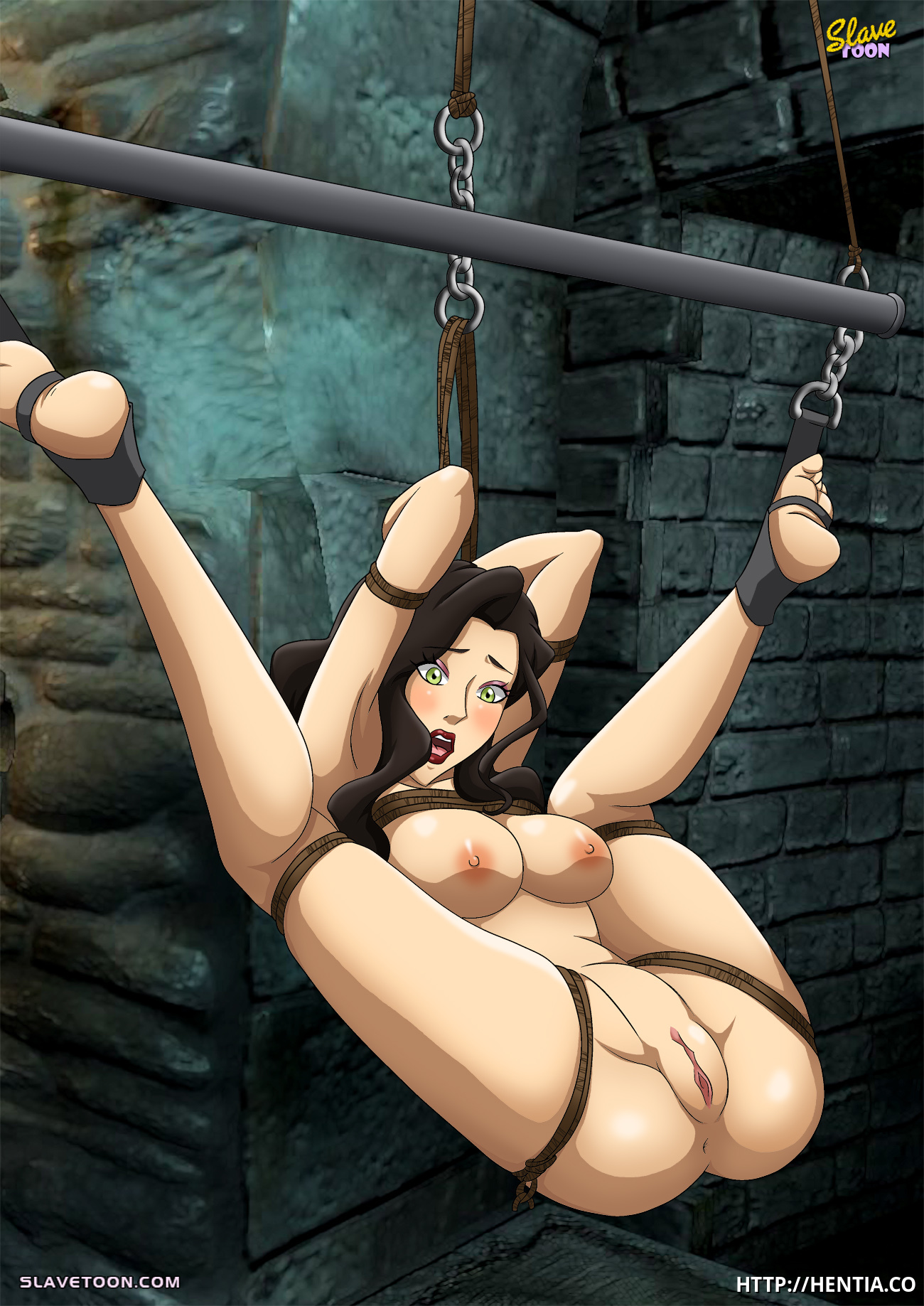 Asami Sato as a sexslave? Don't waste your time!