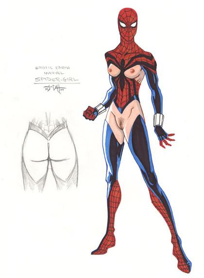 Marvel Super Heros Nude