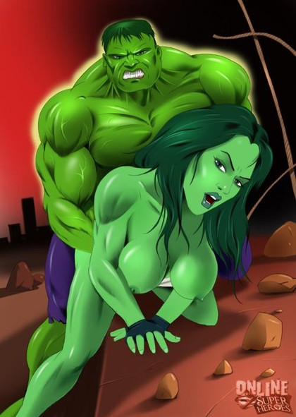 Hulk smash!.. and fuck She-Hulk!