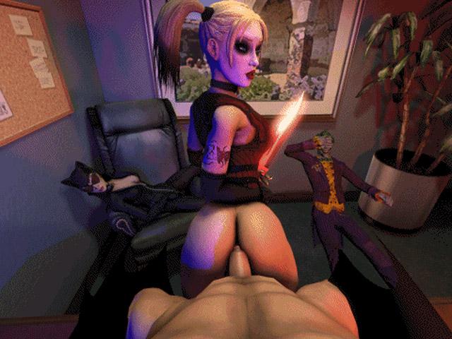 Харли квин секс фото