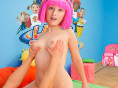 Lazy town rule 34