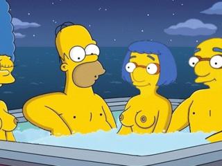 The simpsons sex videos