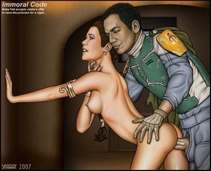 Princess Leia Cartoon Sex