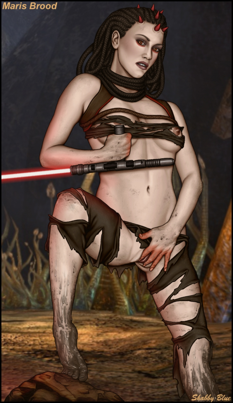 Maris Brood - dirty and naughty like a true sith bicth should be!
