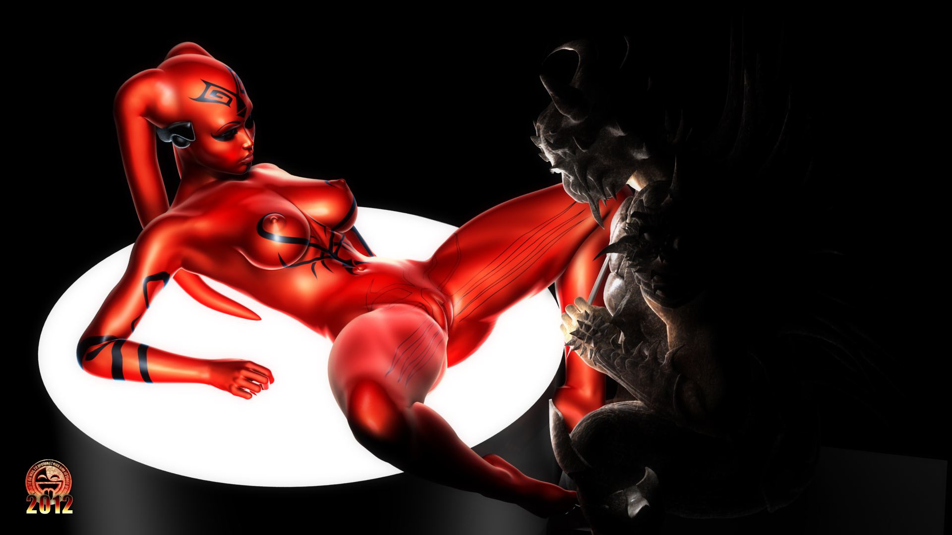 Fabulous Darth Talon prepped to girly-girl fuck-a-thon
