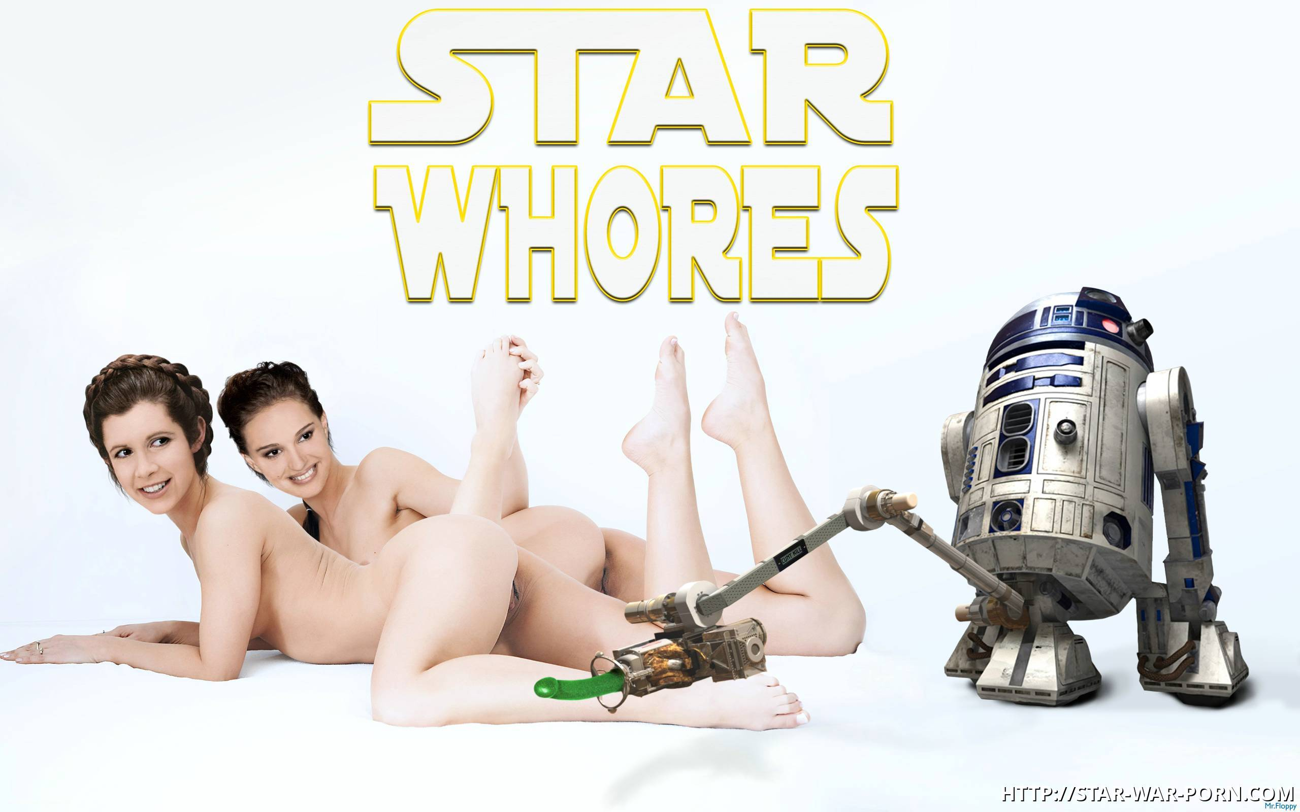 R2D2 has enough sex toys for both Padme and Leia!