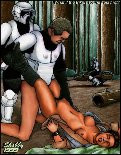 Princess Leia Hentai