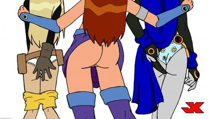 Download Teen Titans Starfire Hentai Video