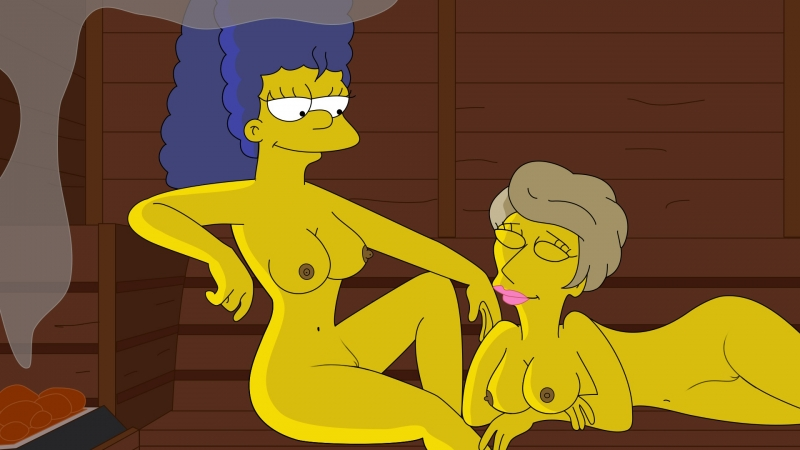 Patty Bouvier  1445361 - Lindsey_Naegle Marge_Simpson The_Simpsons nekomate14_edited.jpg