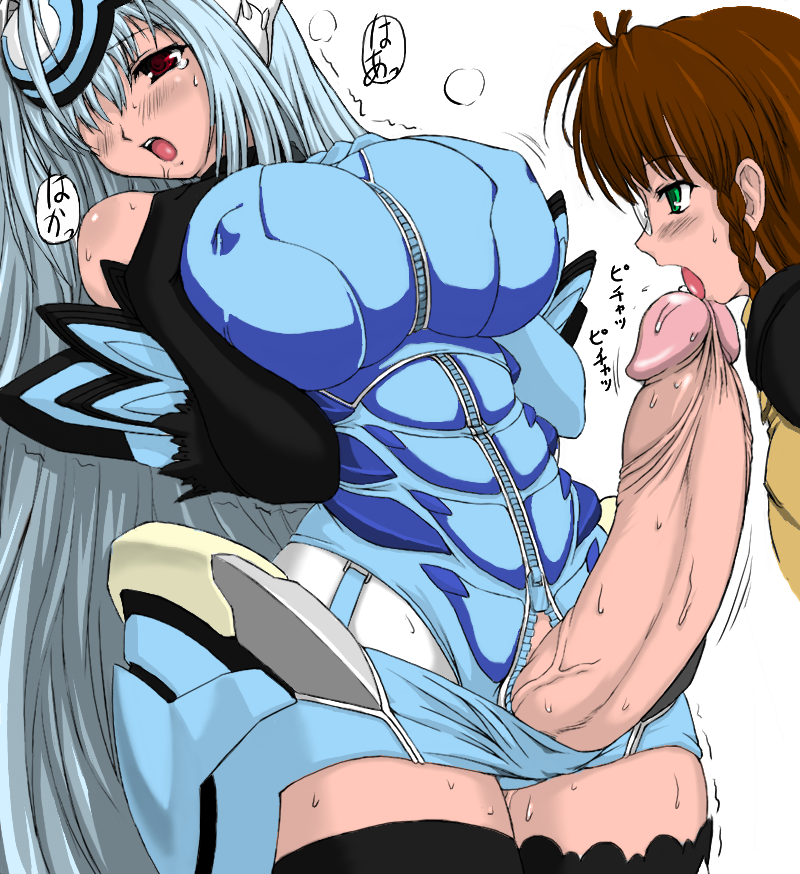 106099 - KOS-MOS Shion_Uzuki Xeno_Series Xenosaga fanatic_fetish.png