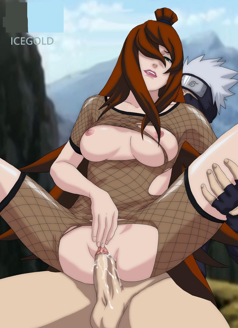 Mei Terumi Hanabi Ino Rin Sakura Naruto Kushina Uzumaki Samui Anko Mitarashi 1576199 - Kakashi Mei_Terumi Naruto.png