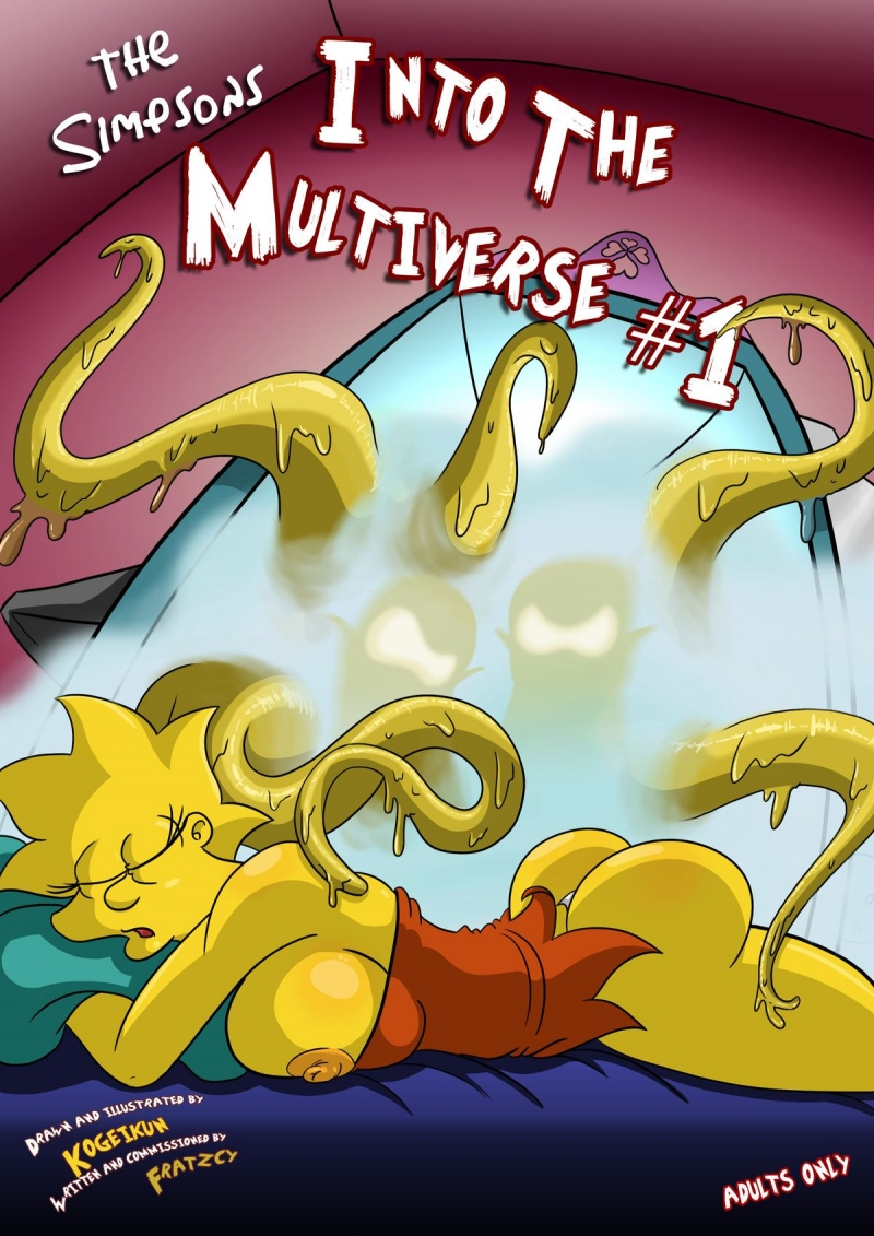 Into the Multiverse #1: Leela and Amy visit Springfield and it completes up with lots of torrid ladies being drilled by tentacles!