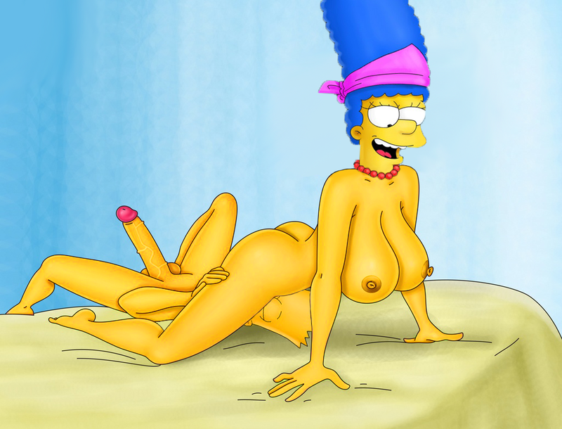 Bart Simpson and Marge Simpson love sloppy screw-out